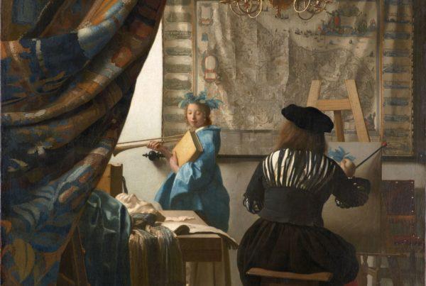 Die Malkunst von Jan Vermeer
